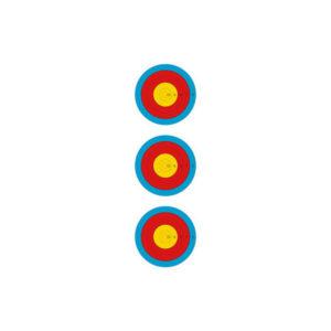 Target Indoor 5 Rings 3 Spots