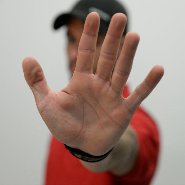 ตำแหน่งการวางมือที่เหมาะสม
