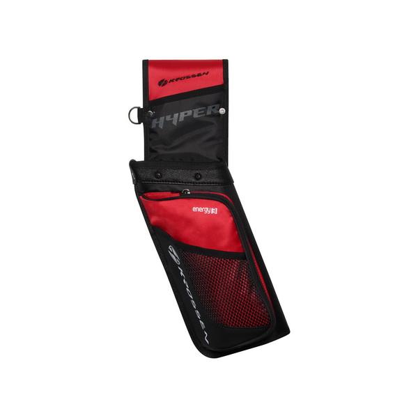 Krossen Hyper Back Quiver - Red
