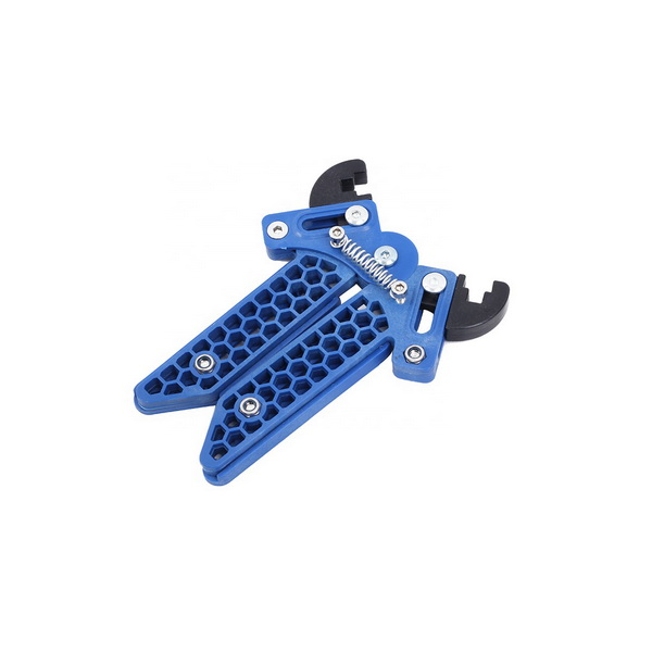 Compound Adjustable Bowstand - Blue