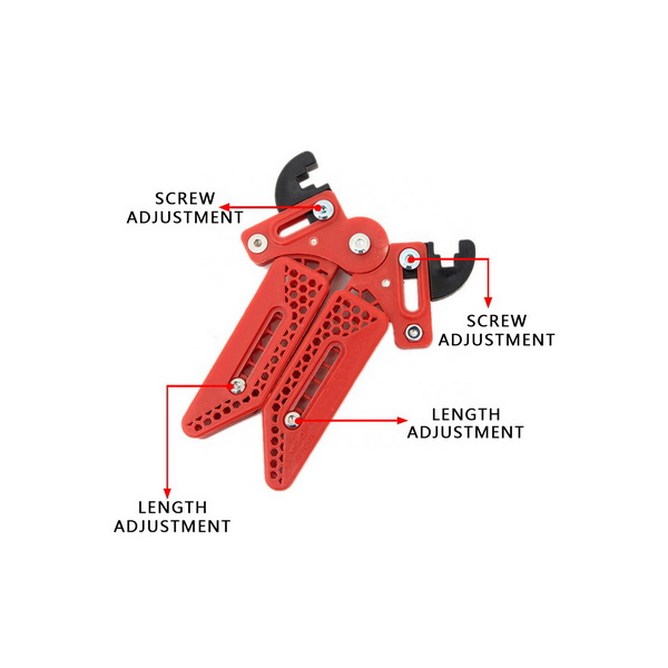 Compound Adjustable Bowstand - Red